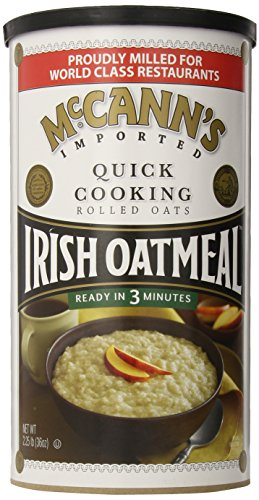McCann's Irish Rolled Oats Oatmeal, Quick Cooking, 36 Ounce
