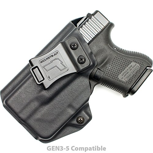 Tulster Glock 26/27/28/33 w/TLR-6 Holster IWB Profile Holster (Black - Left Hand)