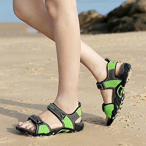 Sandalias De Senderismo Para Mujer Nine Cif Outdoor Grey & Green