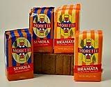 Moretti Bramati Polenta and Semola (4 bags)