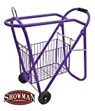 Western Or English Purple Saddle Rack And Tack Basket