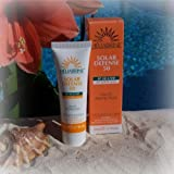 Heliabrine Solar Defense Sunscreen SPF 50 50ml. It's Known For The BEST & Most Effective Sunscreen Available. 100% Natural Ingredients Non Toxic, Sunscreen Safe For Children, Kids & Face. Best For All Skin Types, Including Sensitive, Fair, Oily, & Combination.