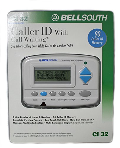 Bell South Caller ID Name and Number (CI-32)