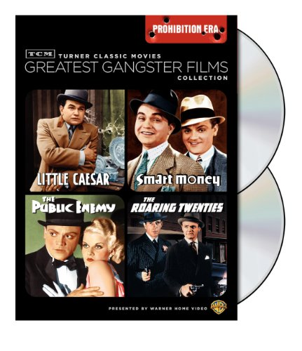 TCM Greatest Classic Film Collection: Gangsters - Prohibition Era (The Public Enemy / The Roaring Twenties / Little Caesar / Smart Money) -