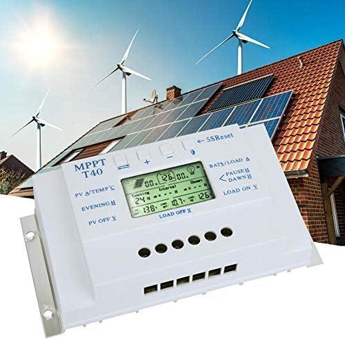 MPPT T40 40A Solarladeregler 12V 24V Auto LCD Display Controller mit Load Dual Timer Steuerung für Street Light System