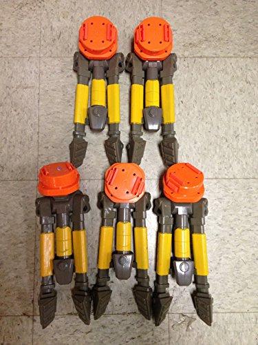 Nerf N Strike VULCAN EBF-25 Blaster Automatic Gun TRIPOD STAND (Includes 5 tripods) (Tripod Nerf Gun)