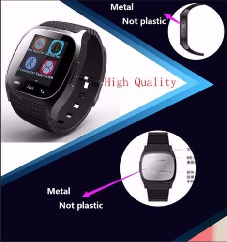 Amazon.com: Bluetooth Smart Watch for Samsung Android Phone ...