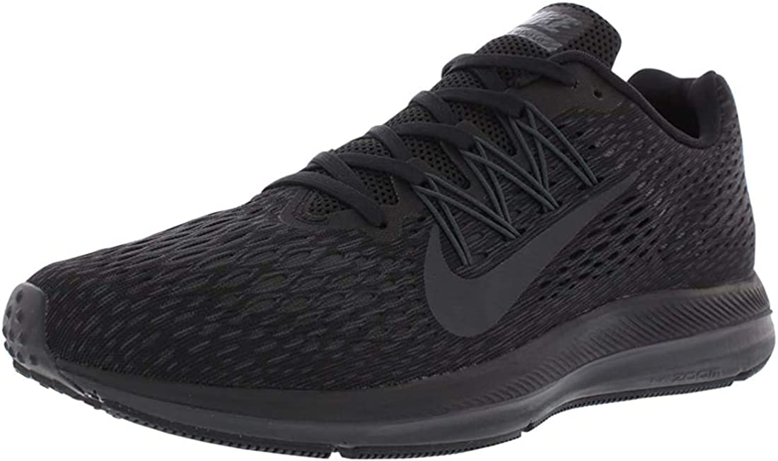 Nike Zoom Winflo 5, Sneakers Basses Homme Black Anthracite 002