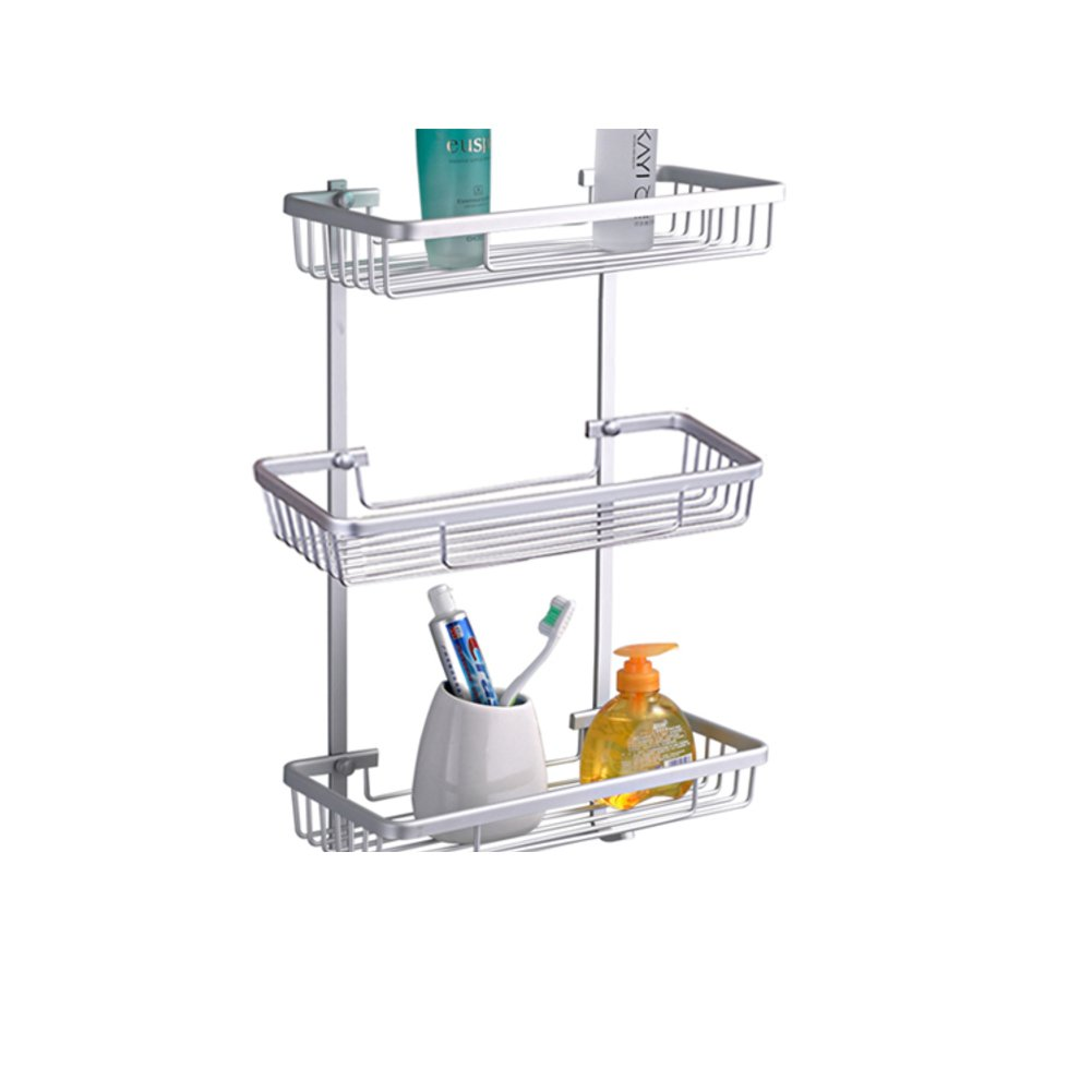 good Space aluminum dual-basket/the shelf in the bathroom/ bathroom accessories-C