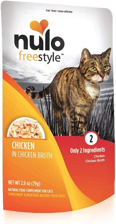 Nulo, Freestyle Chicken in Broth Cat Food Pouch, 2.8 oz