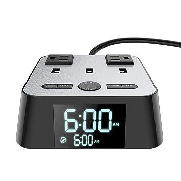 Amazon.com: Yostyle - Cargador despertador con 3 puertos USB ...