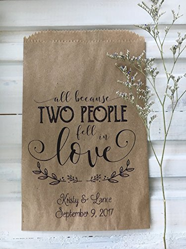 Candy Buffet Bags,Wedding Favor Bags, Personalized Candy Bar Bags, set of 25