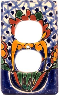 Talavera Switch Ceramic (Outlet Turtle Talavera Switch Plate)