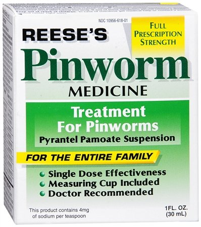 PIN WORM MEDICINE REESE'S 1 OZ PYRANTEL PAMOATE SUSPENSION [Health and Beauty], My Pet Supplies