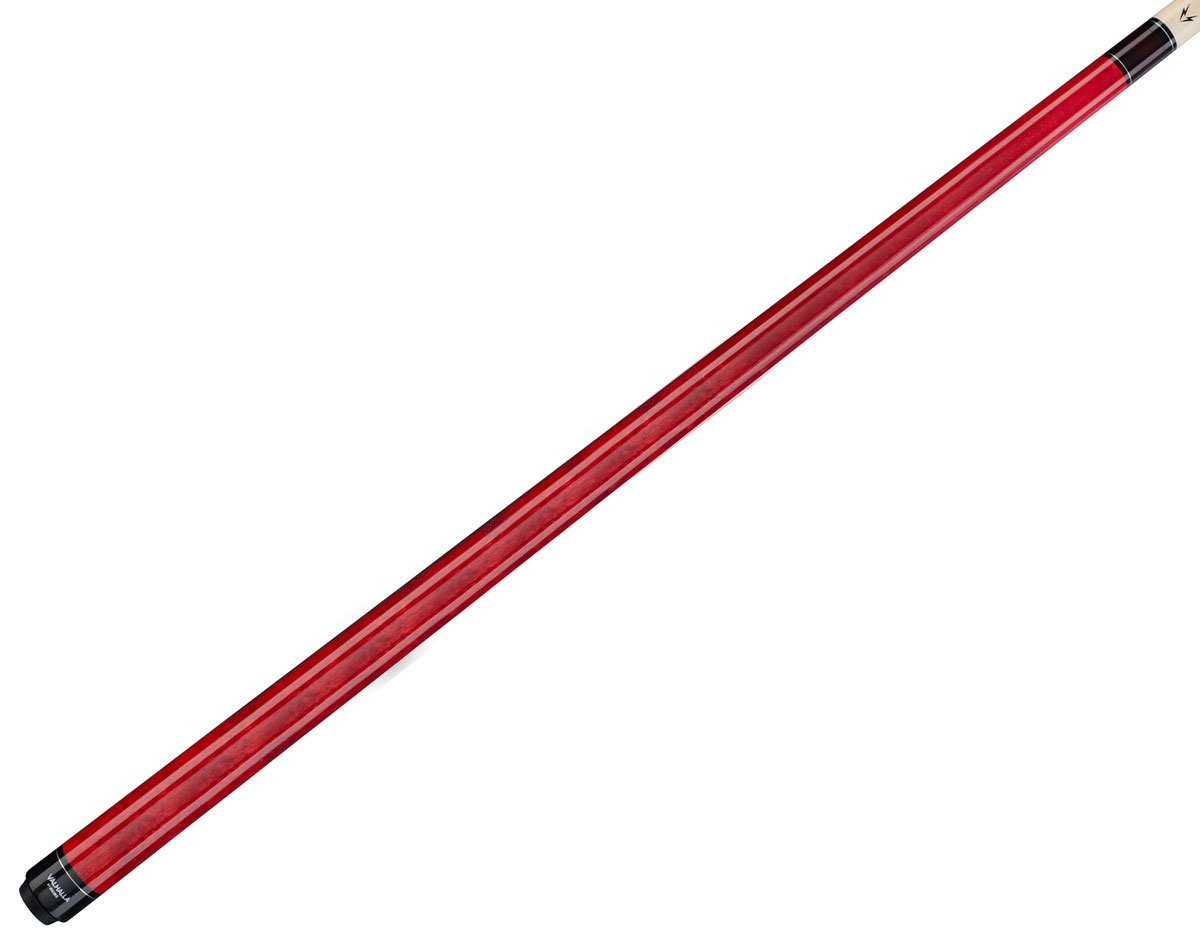 Viking Valhalla 2 Piece Pool Cue Stick VA104 (18oz, Red)