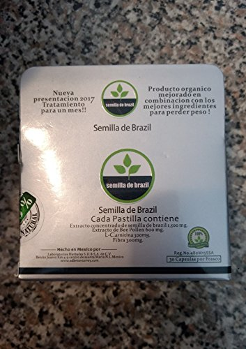 Semilla Brazil weight loss capsules