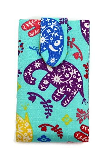- BestByByrd Toothpicks Traveler Cutie Elephant Motif Blue Case With Mirror