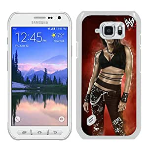 Popular Samsung Galaxy S6 Active Case ,Fashionable And Unique Designed Case With Wwe Superstars Collection Wwe 2k15 Lita White Samsung Galaxy S6 Active Cover High Quality Phone Case