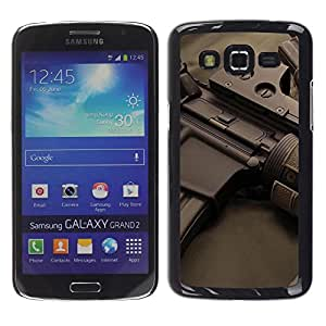 LECELL -- Funda protectora / Cubierta / Piel For Samsung Galaxy Grand 2 SM-G7102 SM-G7105 -- Assault rifles --
