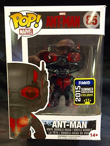 Funko POP Marvel: Black Out Ant-Man Action