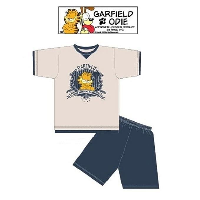 Pijama corto Garfield Good Morning multicolor medium: Amazon.es: Ropa y accesorios