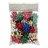 """Hallmark Holiday 3"""" Bow Assortment (75 Bows; Traditional Holiday Colors) for Christmas Gifts: more info"""