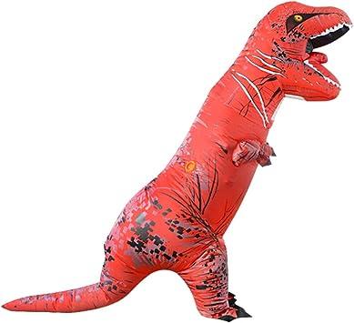 Everpertuk Traje de Dinosaurio Inflable, Fiesta de Disfraces de ...