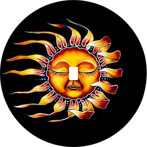- Sleeping Sun Tire Cover with Back up Camera Opening for Jeep JL JLU (245/75r17 Back up Camera)