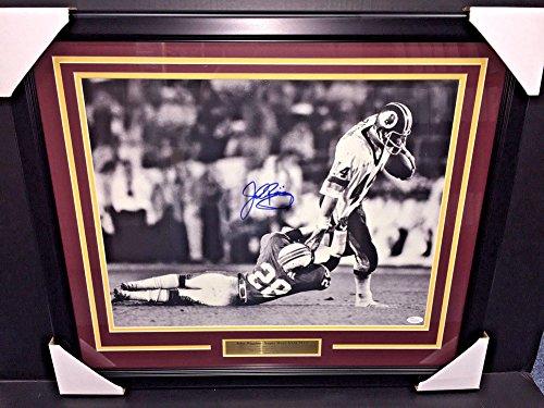 John Riggins Nfl (John Riggins Autographed Signed Super Bowl Xvii 16x20 Photo #2 Framed Redskins JSA Coa)