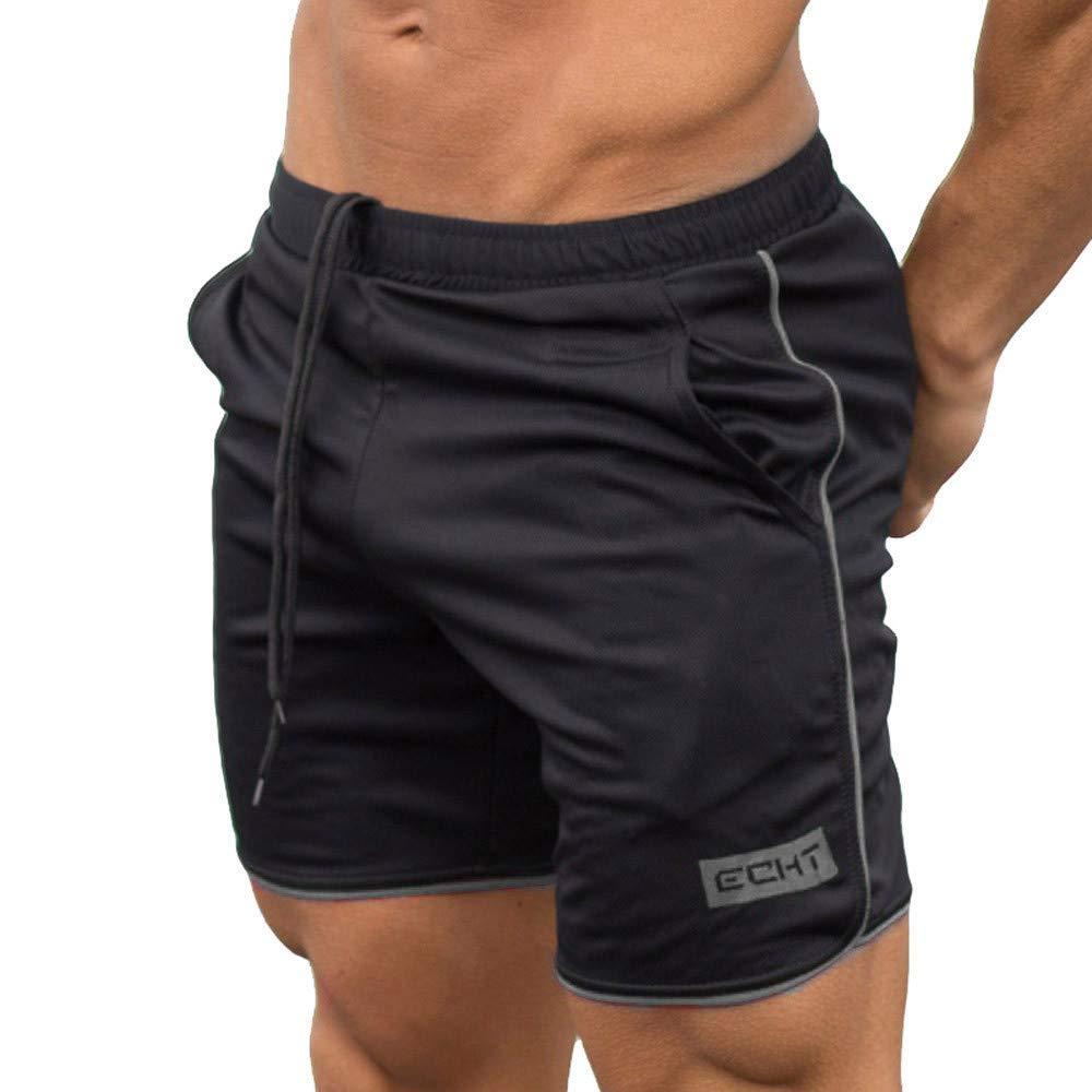 Pantalones Cortos Deportivos de algodón para Hombres ...