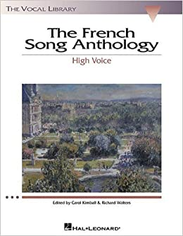 Book French Song Anthology by Walters, Richard, Kimball, Carol. (Hal Leonard,2001)