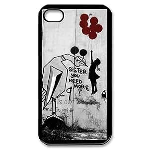 iPhone 4,4S Phone Case Banksy Balloon Girl UA0477840