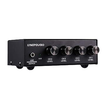 IPOTCH 4 Canal Micrófono Licuadora en Miniatura Audio Mesa de ...