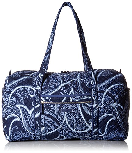 Vera Bradley Iconic Large Travel Duffel, Signature Cotton, Indio, One Size