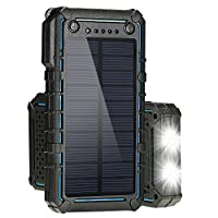 Hallomall Solar Charger,Solar Power Bank...