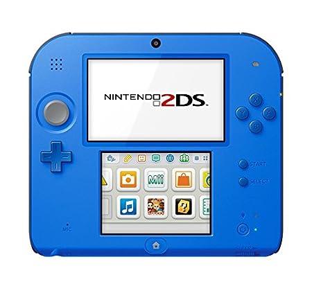 Nintendo Nintendo 2DS-Electric Blue 2 w/Mario Kart 7 - Nintendo 2DS