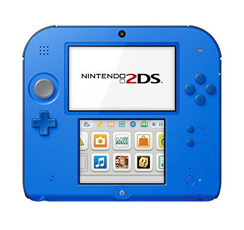 Price comparison product image Nintendo 2DS - Electric Blue with Mario Kart 7