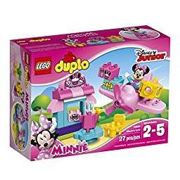 LEGO DUPLO Disney Junior Minnie\'s Café 10830, Preschool, Pre-Kindergarten Large Building Block Toys for Toddlers