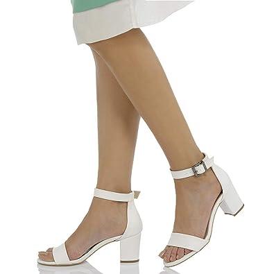 9e9513ee8707b Butigo S1100 Beyaz Kadın Ayakkabı: Amazon.com.tr: FLO & INSTREET