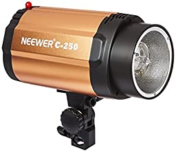 NEEWER Smart 250SDI 250W Photography Strobe Flash Studio Light Lamp Head 110V for DSLR Camera GN48, Aluminum Housing