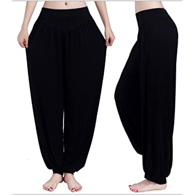 swallowukmodal plastique fleur Yoga Pantalons Pantalons