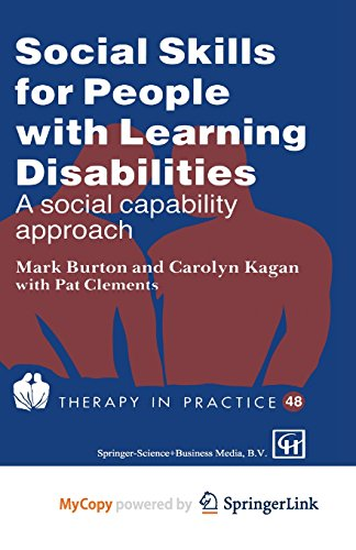 social skills dating and learning disabilities Why is it hard for some children to learn social skills  number of children and young people with learning disabilities have very little empathy.