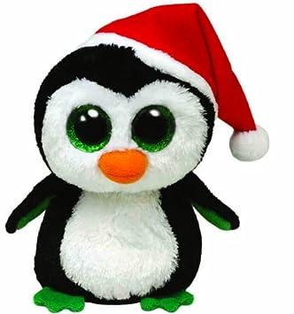 Ty Ty36092 Beanie Boos Igloo - Pingüino de peluche (15 cm) - Peluche Beanie