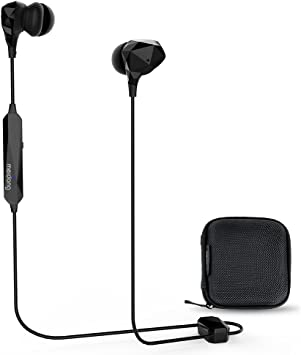 Amazon Com Active Noise Cancelling Earbuds Meidong Bluetooth Headphones Wireless Ear Buds In Ear Stereo Sports Earphones With Built In Mic Anc Denoising Mode 10h Otg Magnetic Charging Electronics