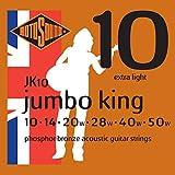 Rotosound JK10 Jumbo King Acoustic Guitar Strings (10-50)
