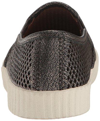 Perf Fashion Camille Pewter Slip Women's Frye Sneaker vSEx88n