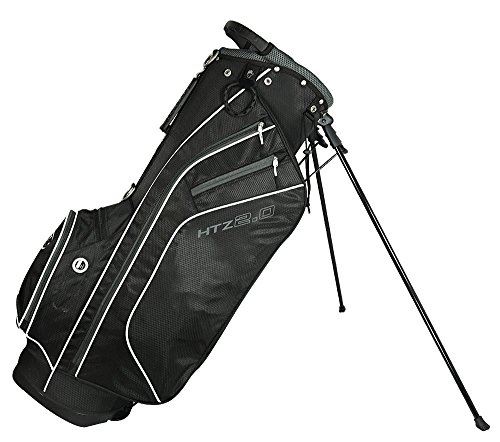 Hot-Z 2017 Golf 2.0 Stand Bag, Black/White