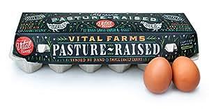 Vital Farms,  Alfresco, Pasture Raised Grade A  Large Eggs, 1 dozen