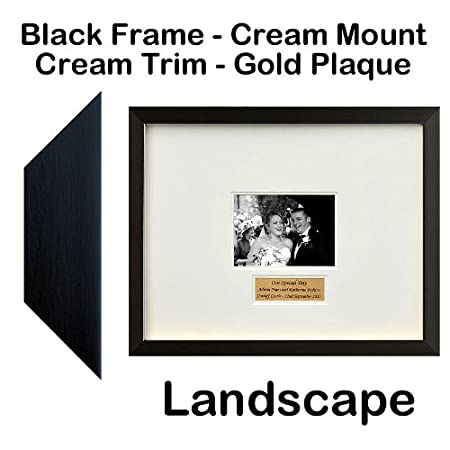 Panoramic Wedding Guest Book Signing Frame - Contemporary ...