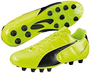 Puma Universal II FG zapatillas de Fútbol Tacos Moldeados fútbol Zapatos Zapatillas Running - Amarillo Fluorescente/Negro, 7: Amazon.es: Deportes y aire ...